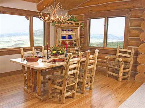 Log Dining Room Furniture Furniture Rustic Dining Room Sets Dining Sets Rustic Wood Dining Room Tables Dining Room