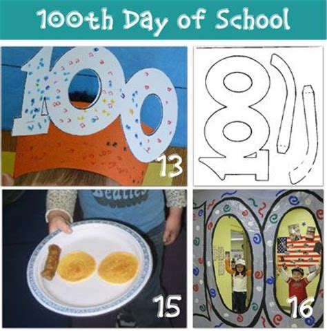 100th day of school crafts 100th day of school ideas from tip junkie 100th day activities the giants