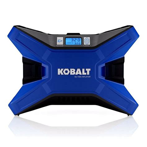 kobalt electric portable air compressor 120 psi 12 volt 120 volt tire inflator ebay