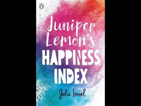 Book Review How Will I By Oflanagan by Juniper Lemon S Happiness Index By Julie Israel Book