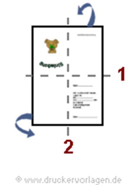 Word Vorlage Faltkarte Din A6 Vorlage Einladung Din A4 Format