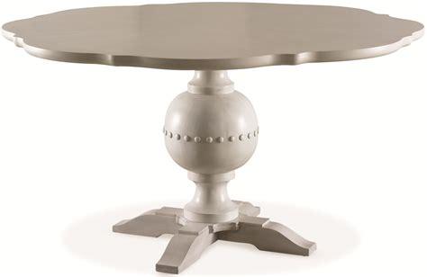 white pedestal dining table white peony blanc white bloom round pedestal dining table