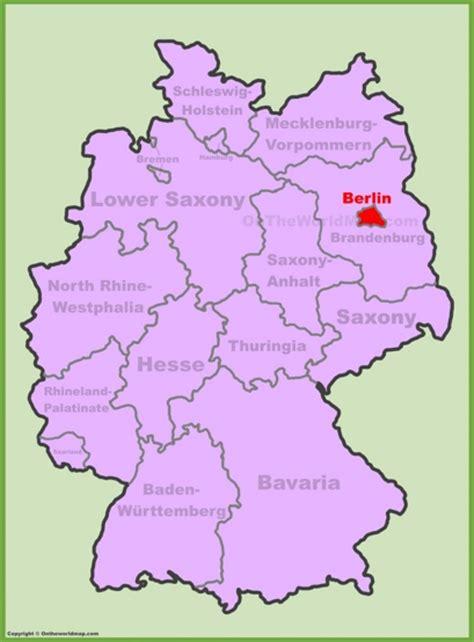 berlin on the world map berlin maps germany maps of berlin