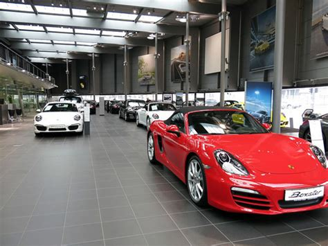 porsche dealership inside a tour of the porsche museum in germany