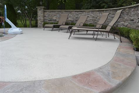 concrete resurfacing can give your old deck or patio a