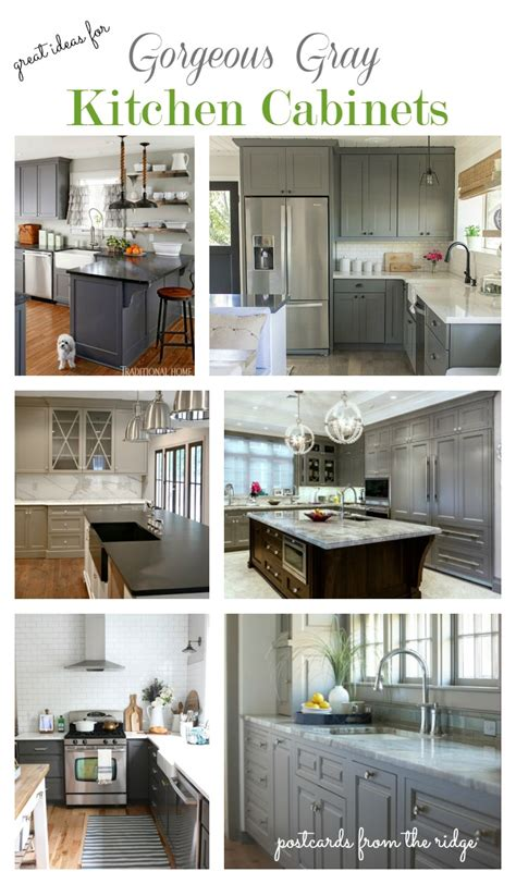 gray kitchen cabinets ideas great ideas for gray kitchen cabinets postcards from the ridge