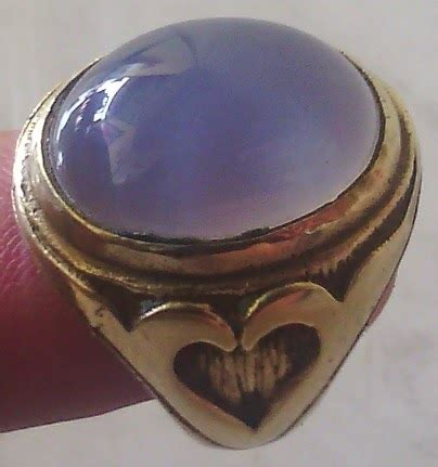 Chalcedony Lavender Biru Langit Baturaja batu akik padang lavender biru langit baturaja code apblb308
