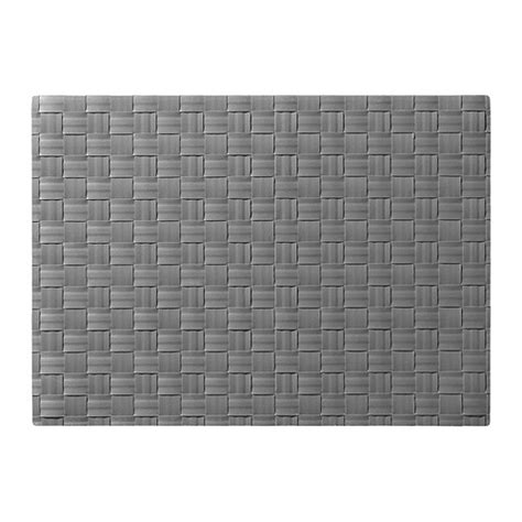 Place Mat by Ordentlig Place Mat Grey 46x33 Cm