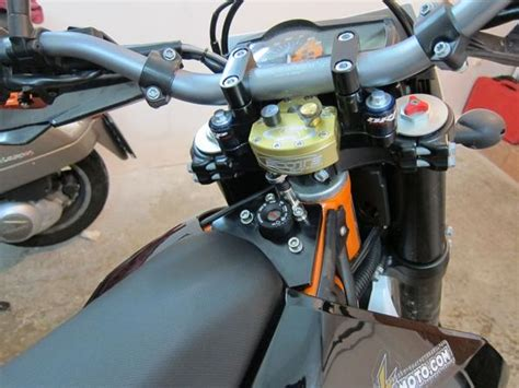 Scotts Steering Der Ktm Scotts Steering Stabilizer And Brp Rubber Mounted Sub