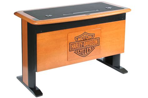 Harley Davidson Desk desk personalization caretta workspace