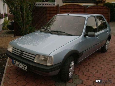 peugeot small automatic cars 1992 peugeot 205 automatic car photo and specs