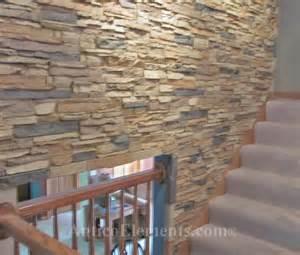 Crating faux diy stone walls with interlocking panels
