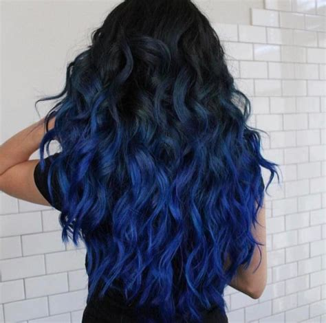what to dye your hair when its black best 20 blue ombre hair ideas on pinterest