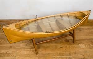 Boat Coffee Table Wooden Boat Coffee Table How To Make A Wooden Rowboat