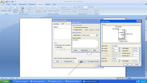 membuat label undangan ms word cara membuat label undangan di microsoft word cara