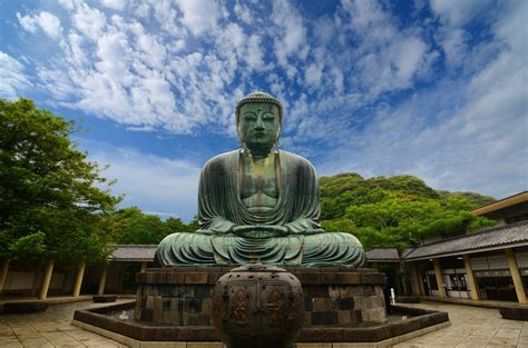 japanese buddhist great buddha of kamakura 4 hd wallpaper landmarks wallpapers