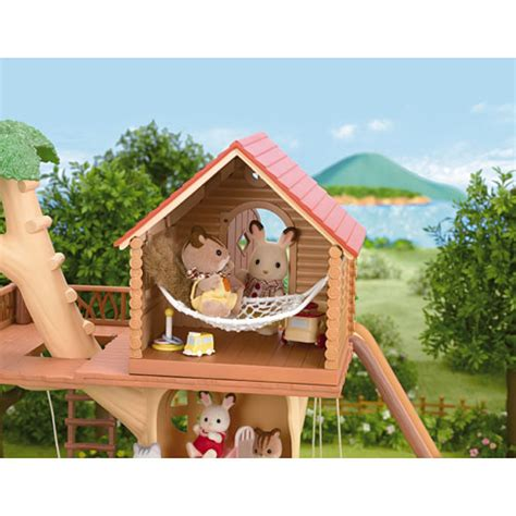 calico critters tree house calico critters adventure tree house go bananas toys