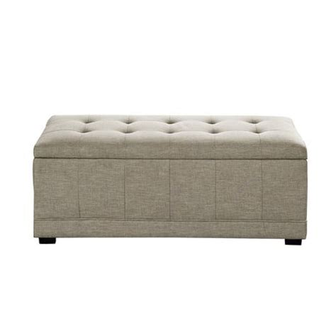 Wyndenhall Norwood Rectangular Storage Ottoman Bench Walmart Ca Ottoman