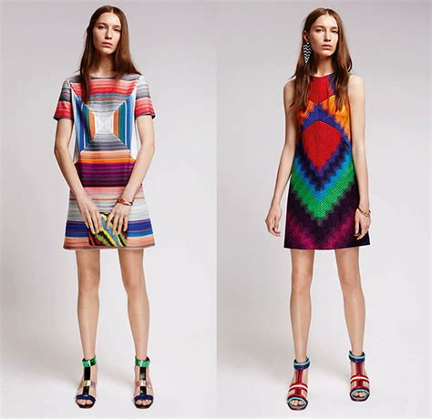 To The Bring A Missoni Bandeau Dress by Missoni 2016 Resort Cruise Womens Lookbook Presentation