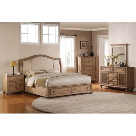 driftwood bedroom furniture riverside coventry 5 piece queen bedroom set in driftwood