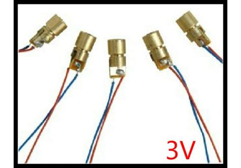 laser diode and led difference 3v laser diode laser point like copper semiconductor laser 6mm outer diameter