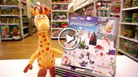 toys r us si鑒e social the great big toys r us book of awesome arrives in homes