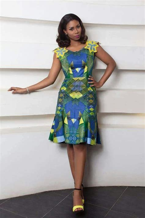 simple  pretty african fashion ankara african design