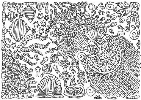 Doodle Malvorlage Coloring Pages by Onkelix, via Flickr
