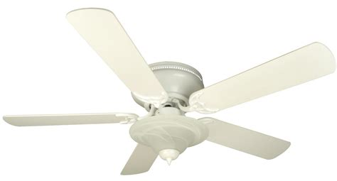 Ceiling Fan Mounting Options by Craftmade Pfc52w White Custom Blade Options 44 Quot 5 Blade