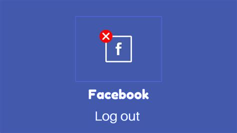 fb logout how to logout of facebook on phone tablet app messenger
