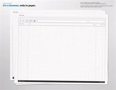 10 Free Printable Web Design Wireframing Templates Web Design Ledger Printing Website Template Free