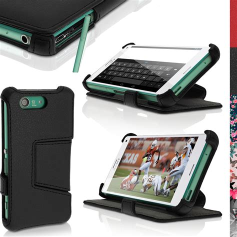 Sony Xperia Z3 Softcase Casing Custom Cases Kd 242 heat modled pu leather cases for sony xperia z3 compact xperia z3 compact d5803 igadgitz