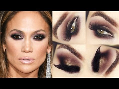 jen makeup tutorial jennifer lopez makeup tutorial maquiagem chorainimiga