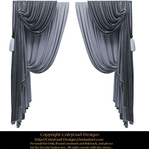 Buy Curtains Blue Drapes 01 By Cntrygurl Designs On Deviantart