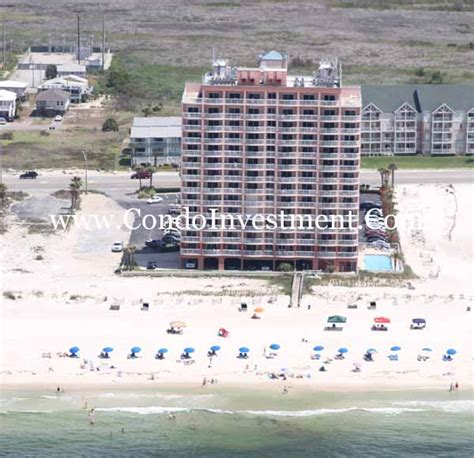 royal palms condominiums gulf shores alabama aerial images of royal palms condo in gulf shores al