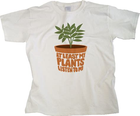 Gardening T Shirt At Least My Plants Listen To Me Youth Unisex T Shirt