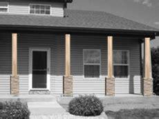 Exterior Column Wraps Adding A Wellington Wrap To A Support Post Installation