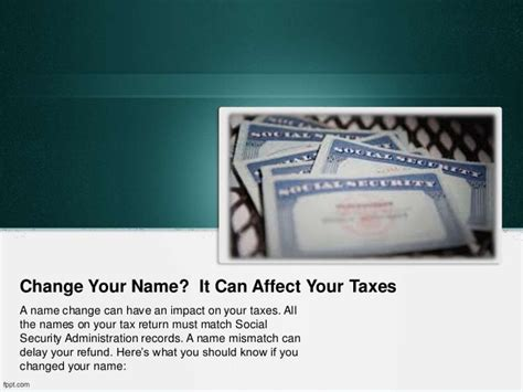 Can You Change Your Name If You A Criminal Record Change Your Name It Can Affect Your Taxes