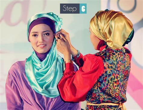tutorial merajut dua jarum hijab tutorial cara memakai kerudung untuk pesta