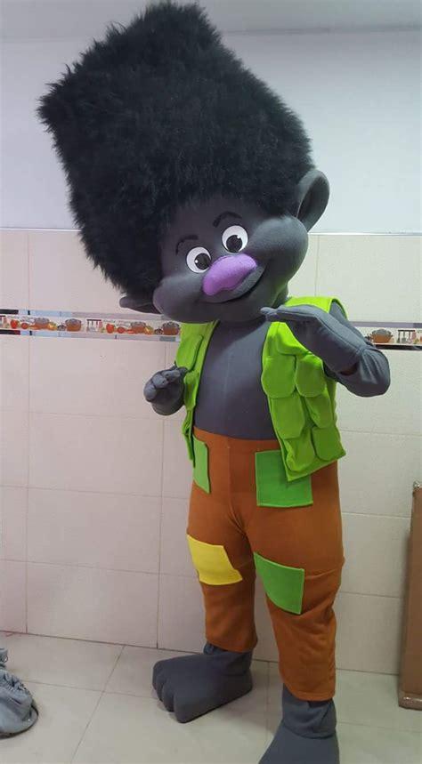 branch troll event mascots costume hire