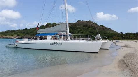 catamaran mystic antigua tropical adventures mystic catamaran st john s
