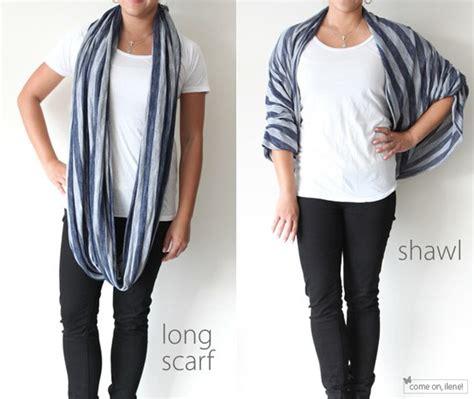 how to tie an infinity loop scarf como usar len 231 os e echarpes guia de len 231 os e echarpes
