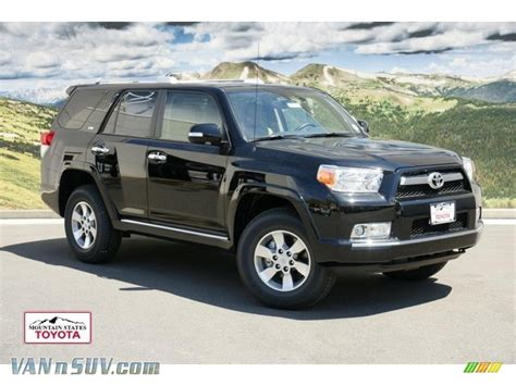 2011 Toyota 4runner For Sale 2011 Toyota 4runner Sr5 4x4 In Black 061219 Vannsuv