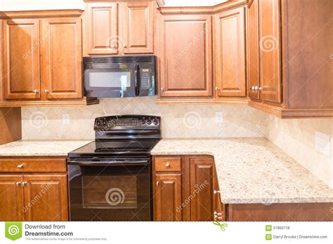 countertop kitchen appliances new kitchen with granite countertops and black appliances