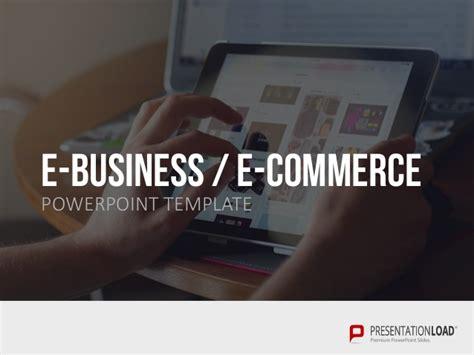 E Business E Commerce Ppt Slide Template E Commerce Powerpoint Template