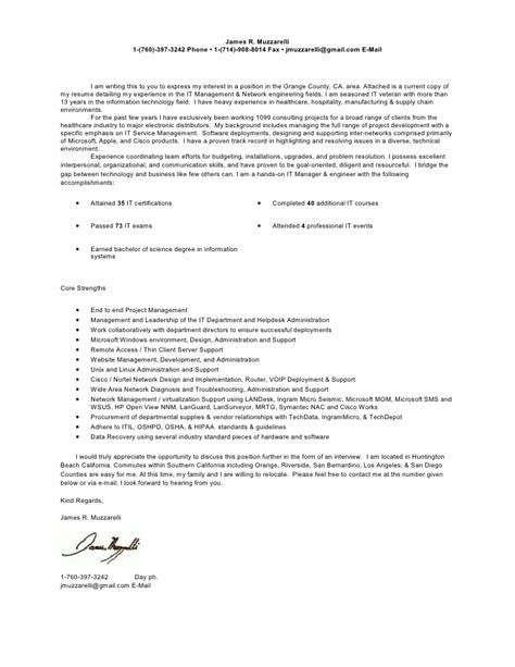 Network Consultant Cover Letter by Current Cover Letter Resume