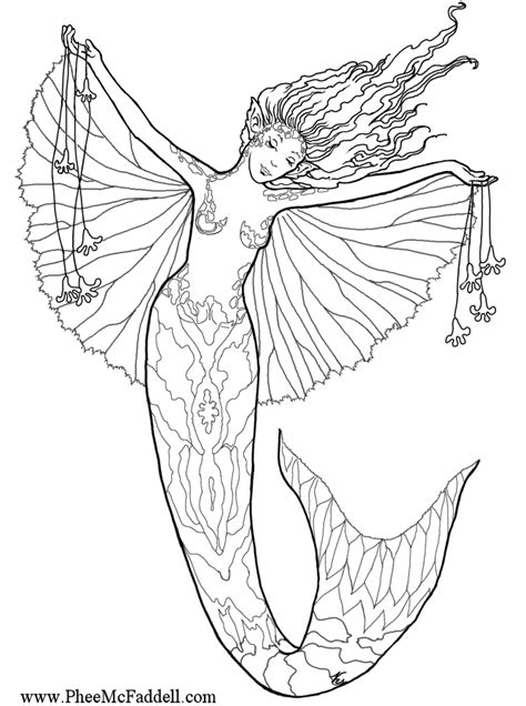 mermaids for adults coloring pages free coloring pages of mermaid for adults