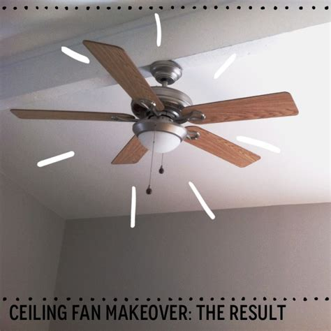 How Do You A Ceiling Fan by Before And After A 6 Ceiling Fan Makeover Harvey