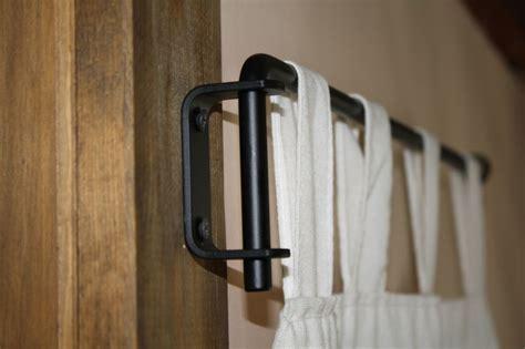 curtain rods that swing open 25 best ideas about curtain rod brackets on pinterest