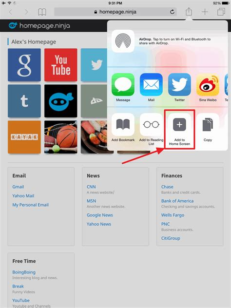 Change Home Page In Safari by Homepage How To Set Your Safari Homepage On